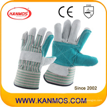 Ab Grade Cowhide Split Leather Industrial Safety Work Gloves (110142)