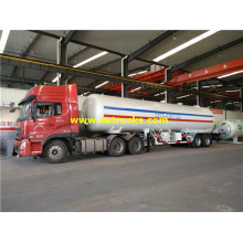 40m3 20tons ASME LPG Delivery Trailers