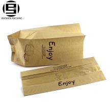 Пекарня упаковки бумажные плоские мешки хлеба