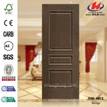 JHK-M03 Raised Line Decorative Design Europen Government Veneer Wenge Concave Door Panel