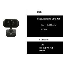 Caméra réseau IP IP P2p noire