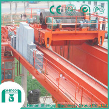 Type de treuil ouvert double pont roulant de poutre dans la conception résistante