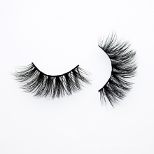 3D 5D 25mm Natural Mink Lashes Private Label Mink Eyelashes False Eyelashes with Custom Eyelash Packaging