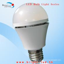 CE, RoHS Lámparas LED de 600lumen E27 SMD LED