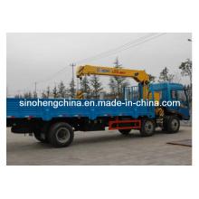 Caminhão Dongfeng 6X2 com guindaste de elevação 10 Toneladas XCMG Sq10sk3q