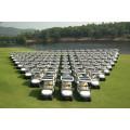 China Elektrischer Golfmobil der Solarenergie-4 Sitzer
