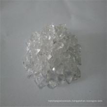 0.38-1.25mm White Clear Toughened Glass Sand with Certificates