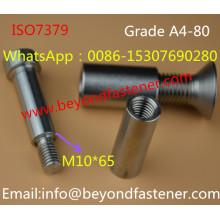 Болты с шестигранной головкой DIN7991 Винты с цилиндрической головкой с шестигранной головкой