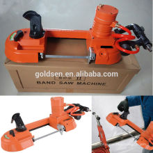 Portable Handheld Speed ​​Variable Metal / Steel Cutting Pneumatic Mini Band Saw