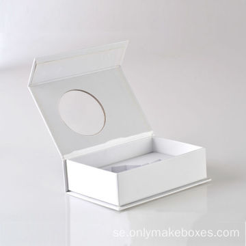 Custom Luxury Book Shape Magnetic Paper Box