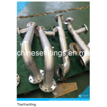 Stainless Steel Fire Safe Piping Works Flanged Pipe Fittings