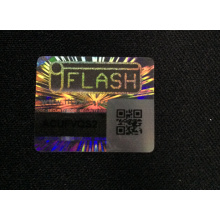 Label Sticker Hologram 3D QR Code