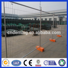 Hot dipped galvanized Temporary Fencing with welded wire mesh infilling