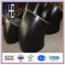 Aço de carbono de solda de topo 45 grau de cotovelo de raio longo com melhor preço