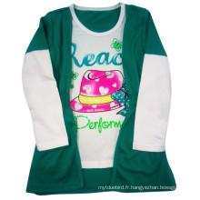T-shirt pour enfants de Nice Girl dans les vêtements pour enfants