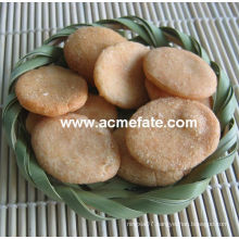 Hot New product corn snacks food korean round rice cracker