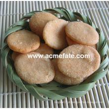 Hot New product snacks de milho biscoito de arroz redondo coreano