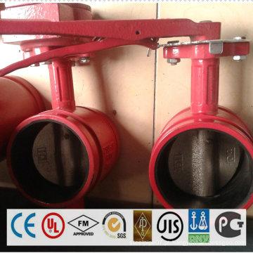 Tubulação de aço do revestimento do zinco e encaixe para o sistema do Sprinkler do fogo