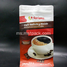 Box Pouch Flat Bottom Coffee Bag