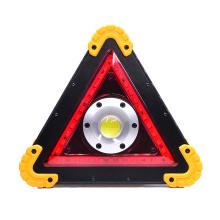 Warning USB Rechargeable Multifunctional cob working lamp