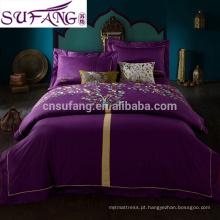 2017 amazon china fornecedor moda dragão e phoenix padrão jacquard conjunto de cama de casamento chinês