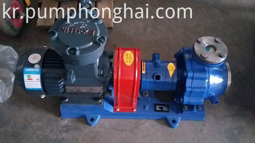 hot thermal oil pump
