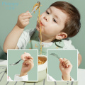 Portable Baby Spoon And Fork BpaFree Happiness Dinnerware