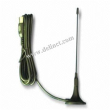 28 * 85mm e nero 4G Sucker Antenna con magnetica