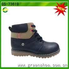 Zapatos de tacón de vaquero de moda de tacón alto