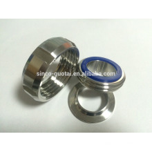 Proveedor y precio de la unión del tubo del din del acero inoxidable sanitario