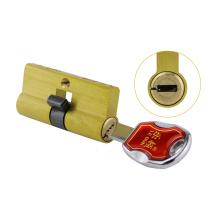 Lâminas seguras do núcleo 6 do cilindro do fechamento do Mortise da lâmina da porta da segurança de bronze