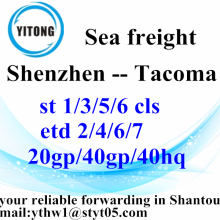 Shenzhen sea freight Shipping Services to Tacoma