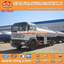 Beiben 6x4 20CBM camion citerne chimique à l'acide nitrique à vendre, approvisionnement en usine de Chine