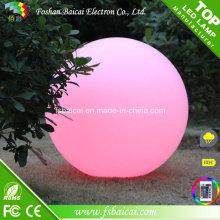 Bola do diodo emissor de luz / bola impermeável do diodo emissor de luz / esfera da mudança da cor