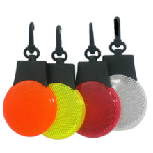 Reflex LED Marker; Plastic Reflector Key Chain