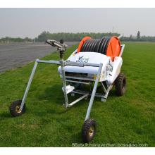 irrigation par enrouleur de tuyau compact