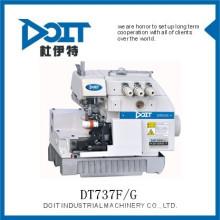 DT737F / G machine à coudre de surjet de trois fils pour les pantalons de gant faisant la machine