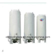 Low-Temperature Liquid Gas Storing Tanks (LO2, LCO2, LAr, LN2 Tanks)