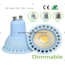 Dimmable Ce e Rhos GU10 5W COB LED Bulb