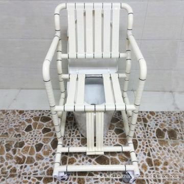 Kommode Stuhl und Bad Stuhl mit Rücken Unterstützung