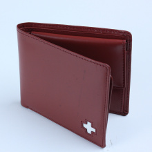 Best quality Low price for Supply Foldable Wallet,Leather Wallet,Long Wallet,Women Wallet to Your Requirements Burgundy Full Grain Leather Men Pocket Bi-fold Wallet supply to St. Pierre and Miquelon Wholesale