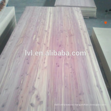 CARB American eastern red cedar faced plywood