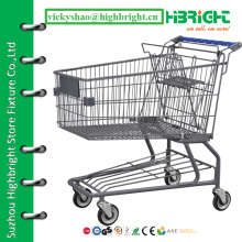 cheap shopping trolley,mall shopping cart,supermarket utility shopping cart