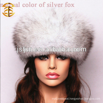 New Chinese Handmade Genuine Fox Fur Winter Women Hat