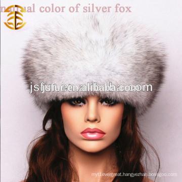 New Chinese Handmade Genuine Fox Fur Winter Women Hat