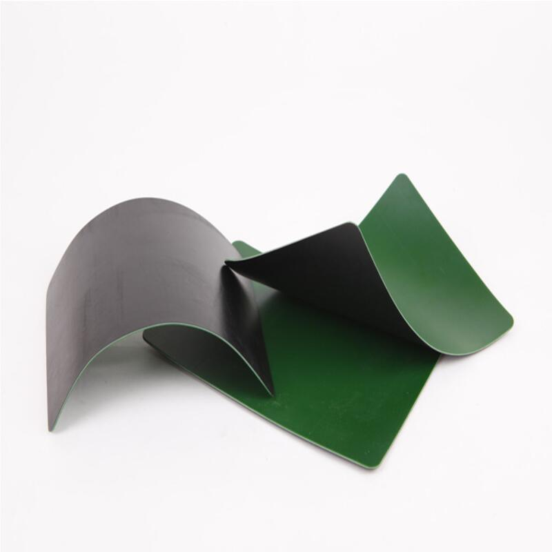 black green HDPE geomembrane