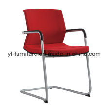 Low Back Swivel Office Chair with Aluminium Base Heavy Load Meeting Chair