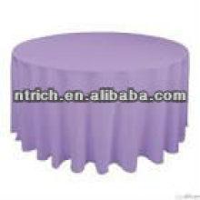 Enrugamento e mancha resistente mesa pano, pano de tabela do poliéster