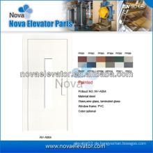 Aufzugstür, Aufzug Halbautomatische Tür, Aufzug Schwingtür