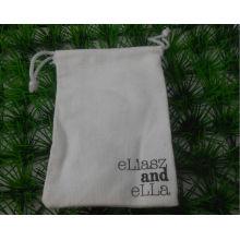 Saco de embalagem pequeno tecido com impressão de logotipos (GZHY-DB-004)
